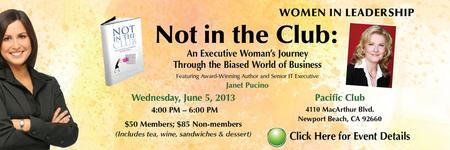 "ACG OC Women's Tea & Speaker Event - ""Not in the Club:..."