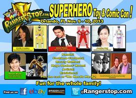 Rangerstop's Superhero Toy & Comic Con