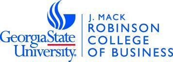 J. Mack Robinson College of Business Annual Honors Day...