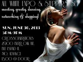 ALL WHITE EXPO & STEPPERS SET