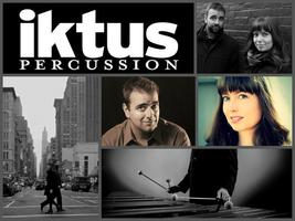 IKTUS Percussion Duo from NYC - One Time Only!