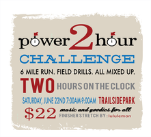 Power 2 Hour Challenge