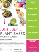 Plant-Based Proteins Culinary Class