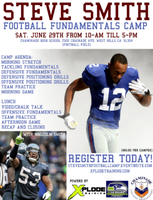 Steve Smith Football Camp