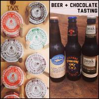 Beer and Chocolate Tasting