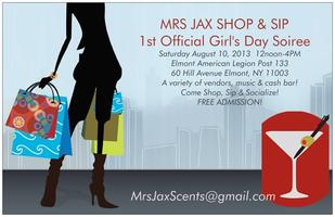 MRS JAX SHOP & SIP - 1ST OFFICIAL GIRL'S DAY SOIREE