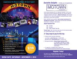 "The ""MOTOWN"" Experience - - Live in New York City!"
