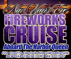 New Year's Eve Fireworks Cruise Aboard The Harbor Queen