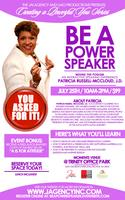 Be A Power Speaker with Patricia Russell-McCloud