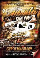 ALL GOLD EVERYTHING!!  OLD SCHOOL ATLANTA DAY PARTY