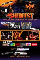 ShedFest 2013 benefiting Rebecca's Dream  July 19th...