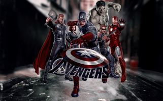 THE AVENGERS | SUPER HERO NITE