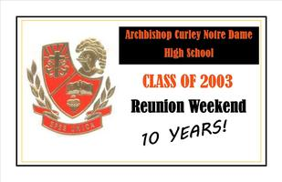 ACND Class of 2003 Reunion Weekend