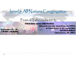 Feast of Tabernacles 2013