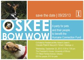Oskee Bow Wow: A Party for Pets and Their People