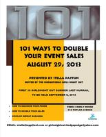 101 Ways to Double Event Sales and Increase Income!