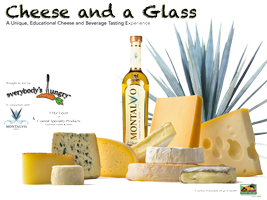 Cheese and a Glass - Tequila Edition