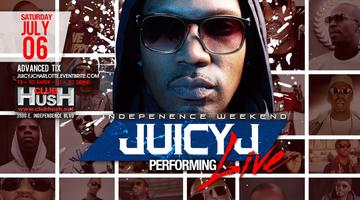 """INDEPENDENCE WEEKEND FINALE W/ ""JUICY J PERFORMING..."