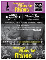 2nd Annual WINOS FOR RHINOS