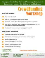 Lean CrowdFunding Workshop