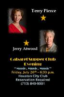 "Cabaret at the Houston CIty Club ""MUSIC, MUSIC, MUSIC"""