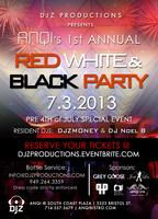 Red White and Black Party