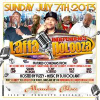 """LAFFAPOLOOZA"" INDEPENDENCE COMEDY BASH 