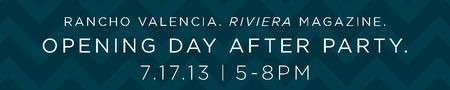 Riviera magazine Opening Day After Party @ Rancho...