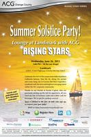 ACG Orange County - Summer Solstice Party! Lounge at...