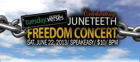 The Verses Juneteenth Freedom Concert