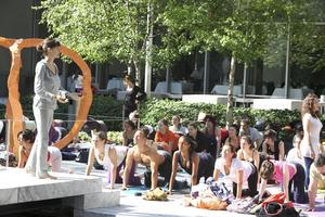 Pangea Organics & Hanuman present Yoga in the Park...