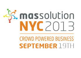 massolution NYC 2013: CROWD POWERED BUSINESS