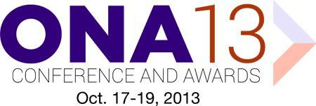 2013 Online News Association Conference and Awards