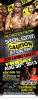 CAUTION'S BIRTHDAY BASH at THE CHOCOLATE FACTORY