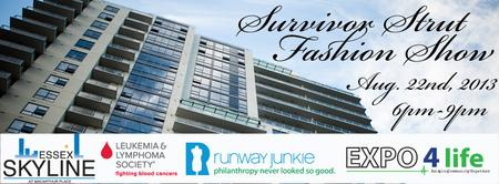 Survivor Strut: The 3rd Annual Essex Skyline Fashion...