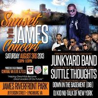 SUNSETS BY THE JAMES CONCERT & AFTER PARTY
