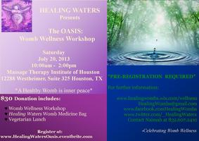 The Oasis: Womb Wellness Workshop