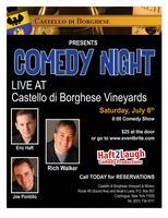 Comedy Night @ Borghese Vineyard