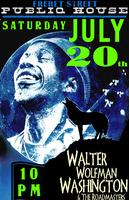 "WALTER ""WOLFMAN"" WASHINGTON & The Roadmasters"