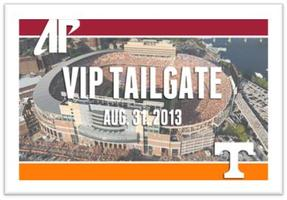 APSU vs University of Tennessee Knoxville Tailgate