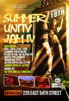4TH ANNUAL NORTH EAST SUMMER UNITY JAM