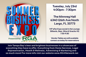 Summer Business Expo, Tampa Bays Best Networking...