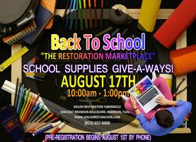 Free School Supplies - Back to School Bash