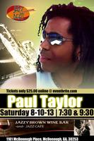 Paul Taylor Live at Jazzy Brown