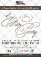 "Marco Foster presents ""The White Party"" benefiting One..."