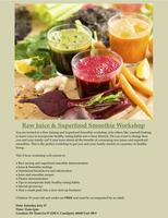 Raw Juice & Superfood Smoothie Workshop