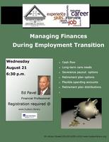 Managing finances during employment transition