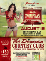 1st Annual Twin Peaks Golf Tournament - San Antonio