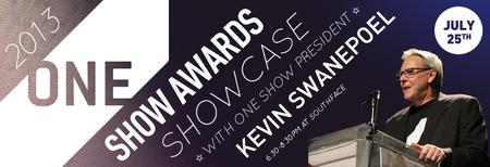 2013 One Show Awards Showcase with One Club President...