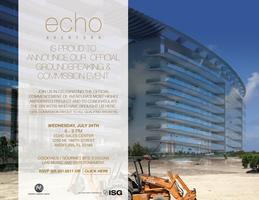 Echo Aventura Groundbreaking & Commission Event